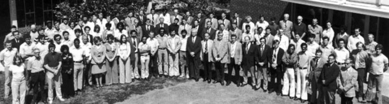 BAE group photo taken 1976