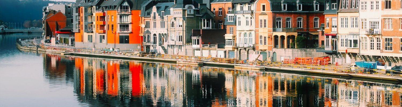 Belgium city scape
